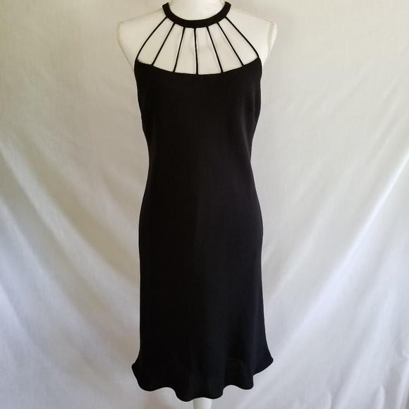 Evan Picone Dresses Black Halter Dress Size 10 Poshmark